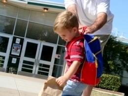 Kindergarten, Alltag, Morgen, Abschiednehmen